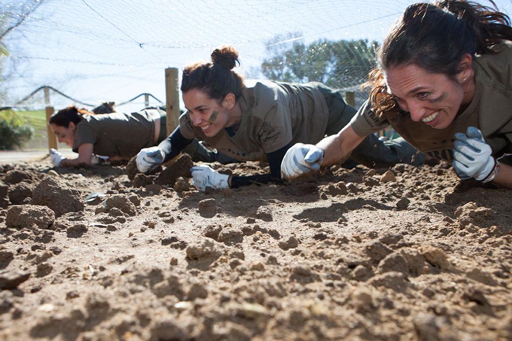 Bootcamp militar Barceló Montecastillo