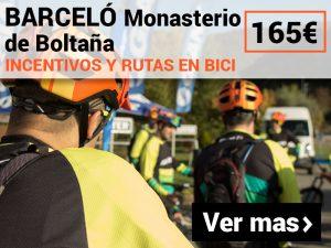 incentivos y rutas en bici BTT Monasterio de Boltaña