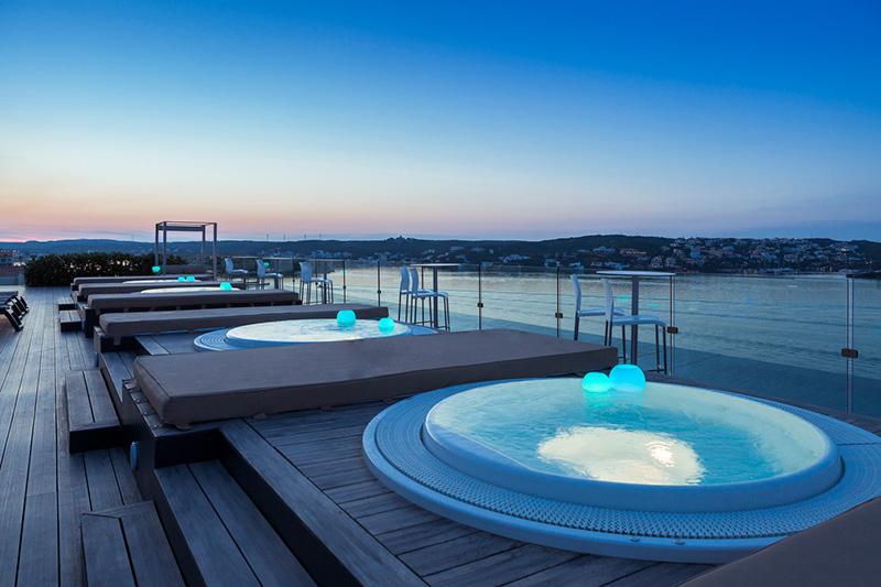 terraza para eventos en Menorca