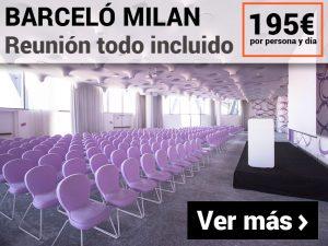 Paquete MICE Milan