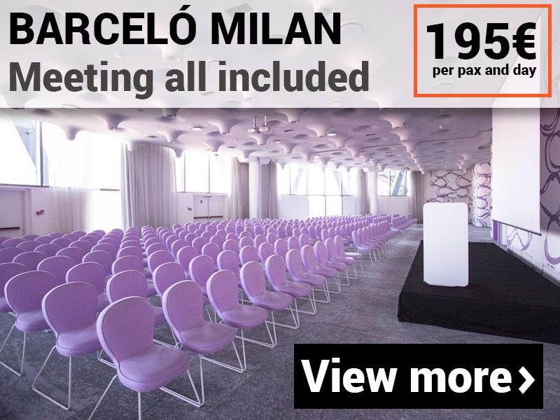 MICE pack for meetings in Milan