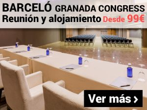 Promoción MICE Barceló Granada Congress