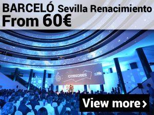 MICE promotion Barceló Sevilla Renacimiento