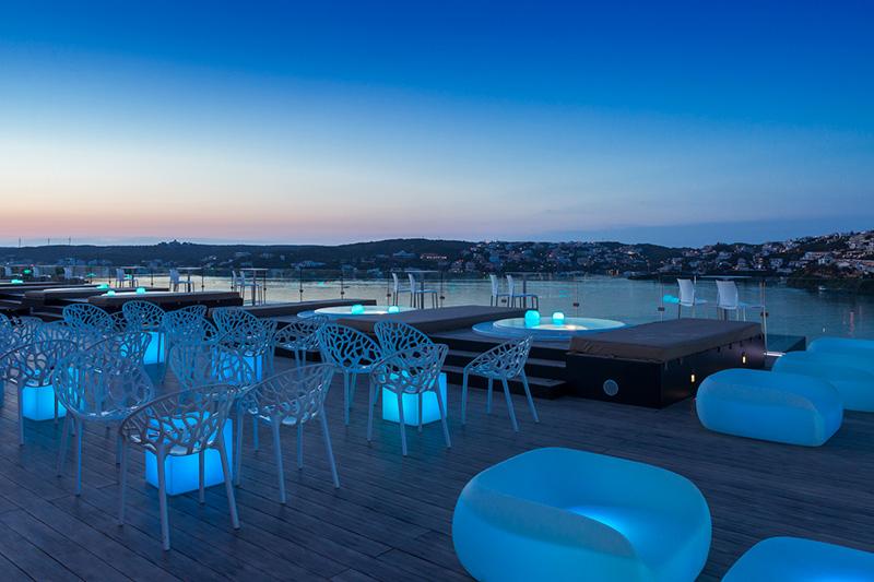 eventos en terraza Barceló Hamilton Menorca