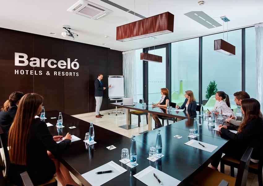salas de reunion en hotel Barceló