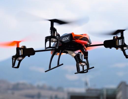 drones en eventos