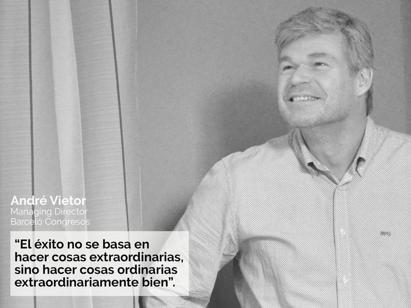 André Vietor Barceló Congresos