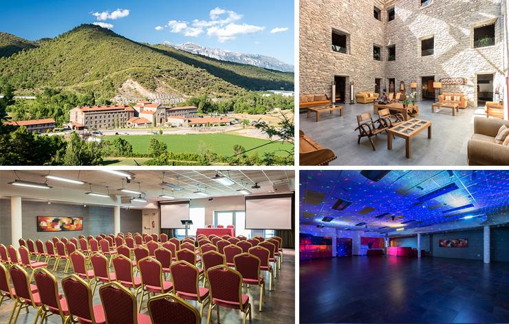 Espacios para reuniones y eventos en Aragón