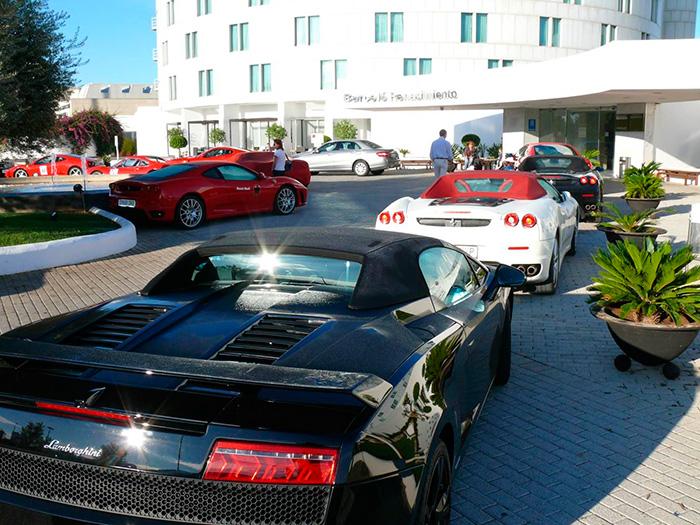 hotel presentaciones coches