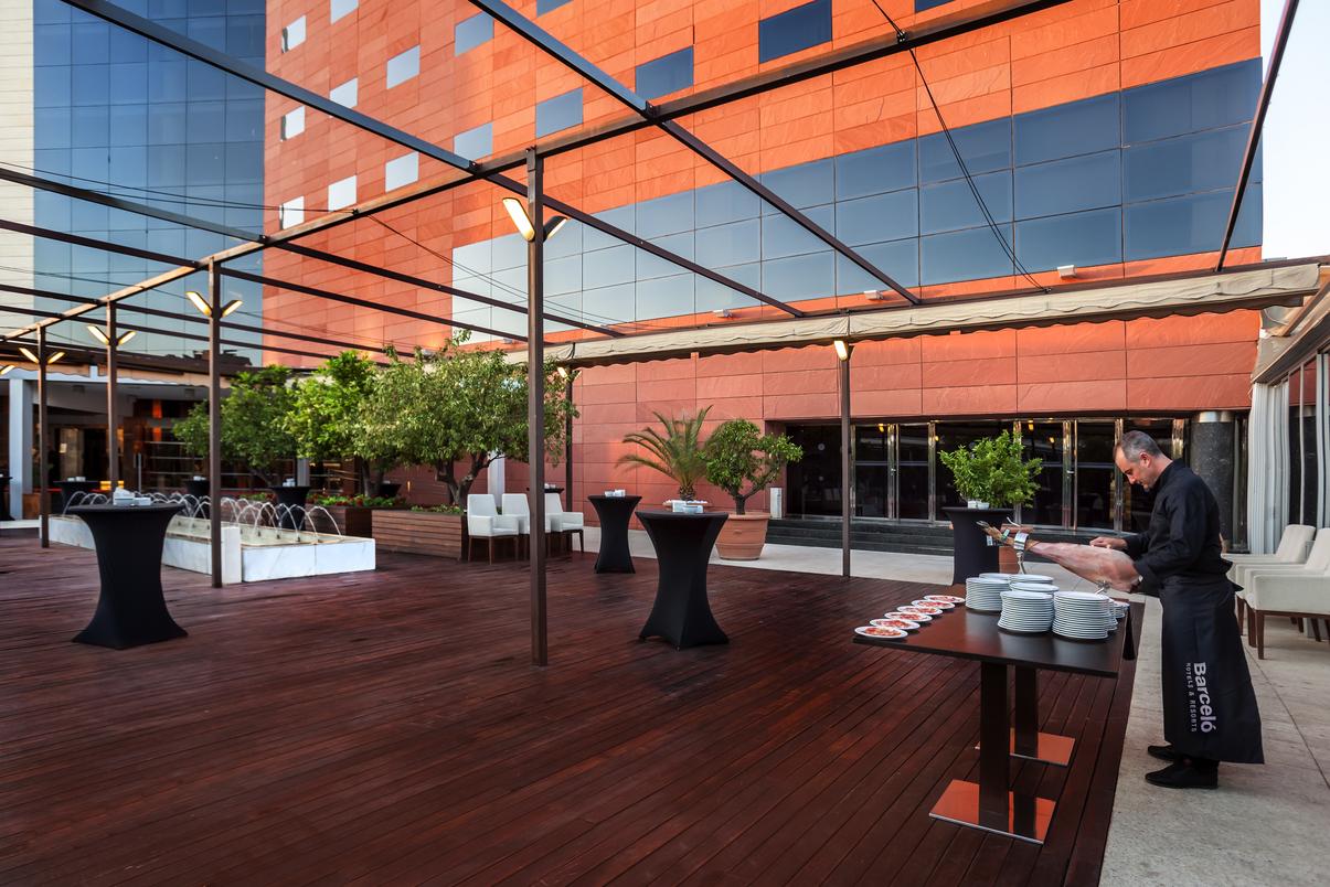 Terrazas de hotel para eventos en Granada