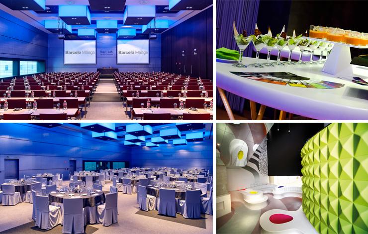 Espacios para reuniones y eventos en Málaga