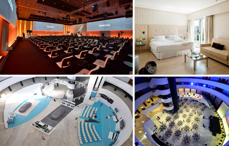 convenciones y reuniones en Sevilla