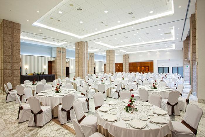 Salón para eventos y celebraciones Barceló Cáceres V Centenario