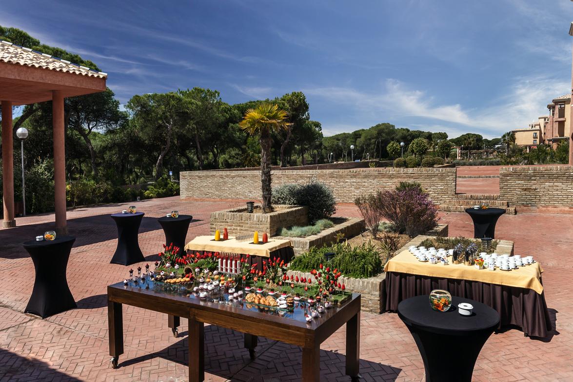 Terrazas de hotel para organizar eventos en Huelva