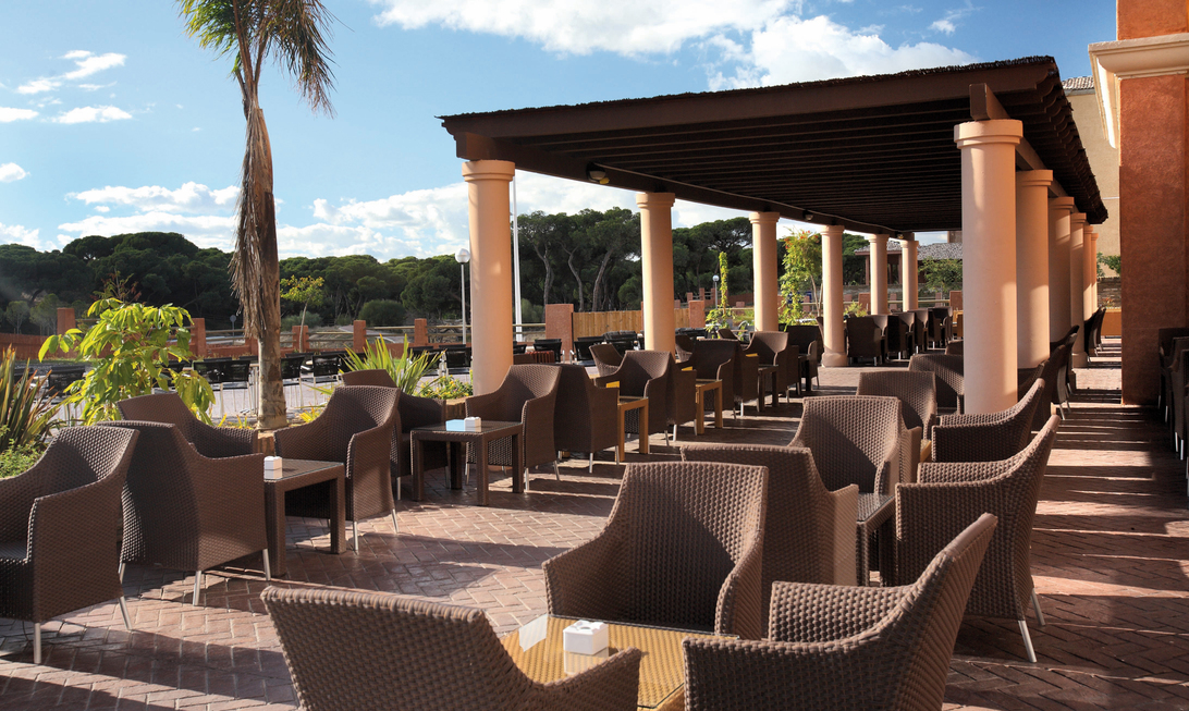Terrazas de hotel para eventos en Huelva