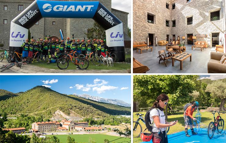 Incentivos y rutas en bici BTT en Boltaña