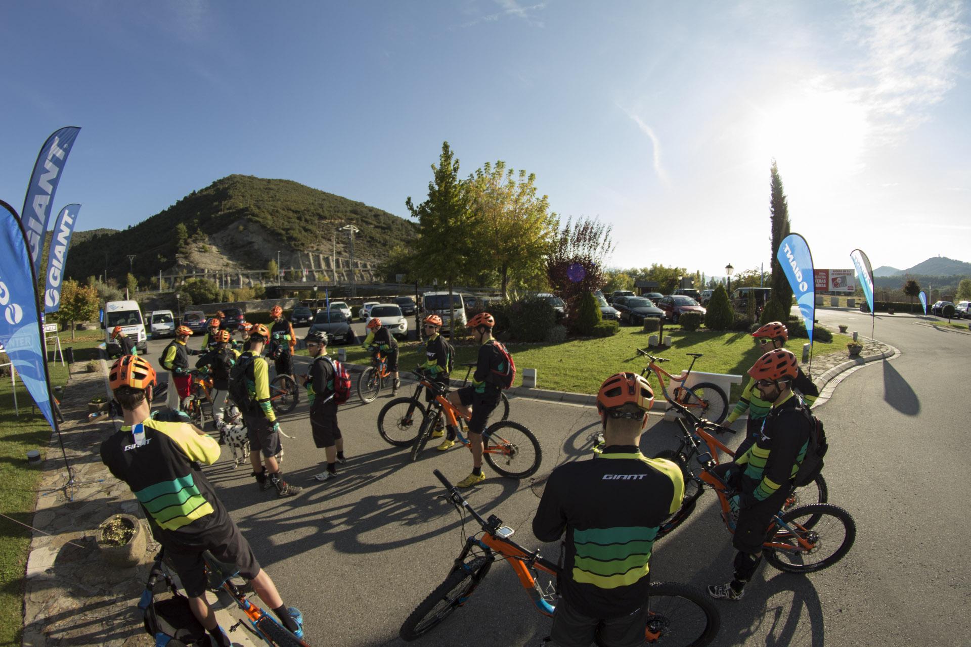 rutas en bici Pirineo Aragón